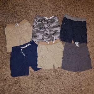 Lot of toddler boy shorts
